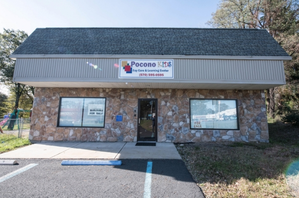 2,000 SF Commercial Building in the heart of Barrett Township on nearly two acres