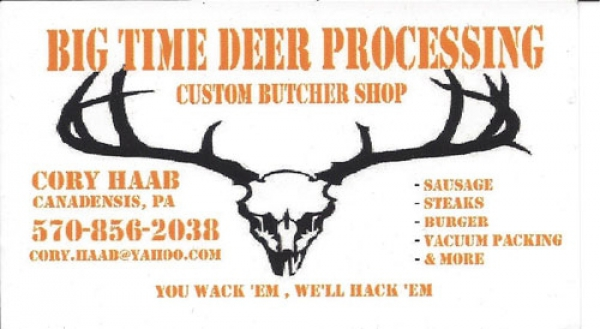 Big Time Deer Processing