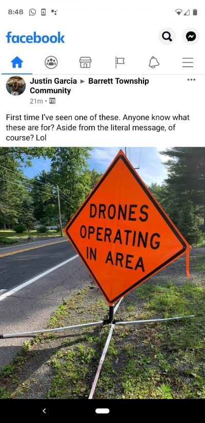 Drones in use