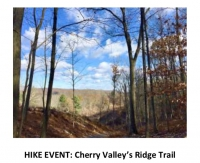 HIKE EVENT: Cherry Valley's Ridge Trail (March 17, 2018)