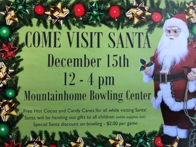 Come Visit Santa @ Mountainhome Bowling Center (2019)