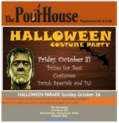 2014 Halloween Parade / Costume Party