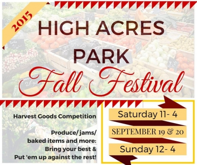 High Acres Park Fall Festival - 2015