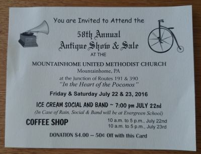 58th Annual Antique Show & Sale