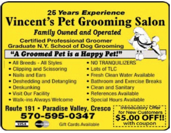 Vincent's Dog Grooming Salon