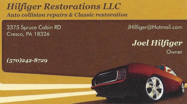 Hilfiger Restorations LLC