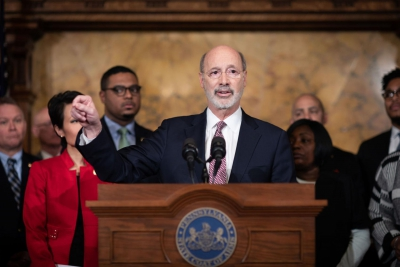 Pennsylvania Gov. Tom Wolf increases pay for top staff members' salaries