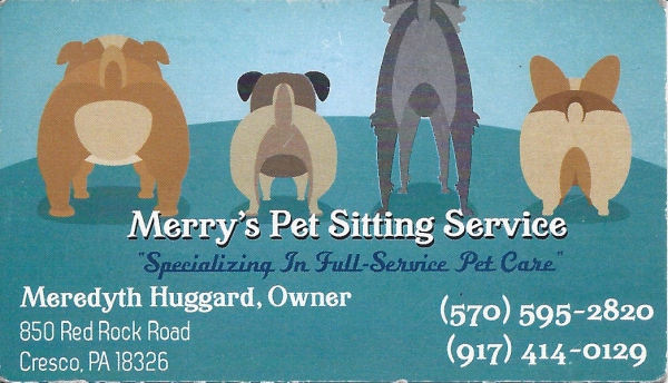Merry's Pet Sitting Service
