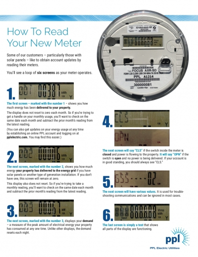 Letter from PP&L re: Smart Meters