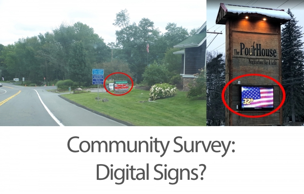 Survey: Digital Signs?