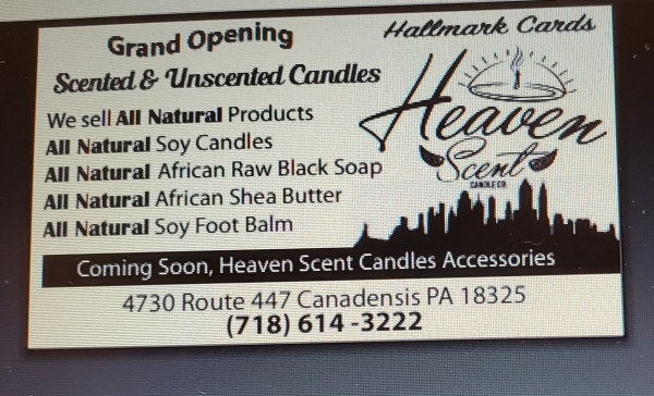 Heaven Scent Candle & Accessories