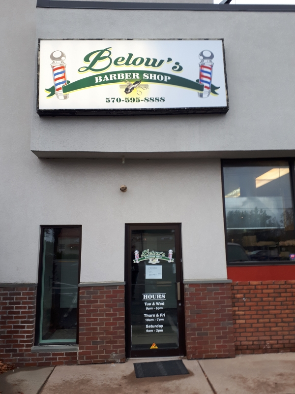 Below's Barber Shop
