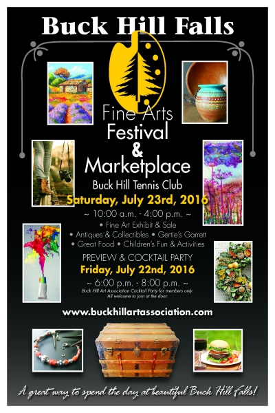 Buck Hill Falls Fine Arts Festival and Marketplace (2016)