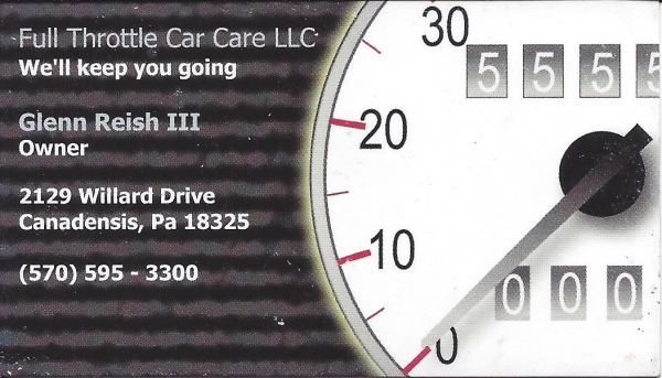 Full Throttle Car Care LLC