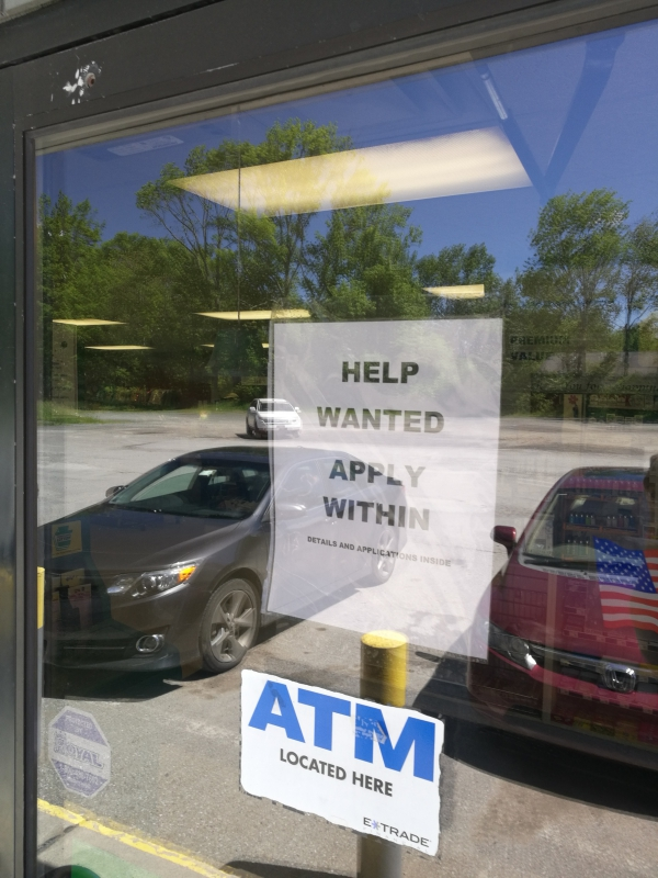 Help Wanted: Cashier (Starner's Quik Shoppes)