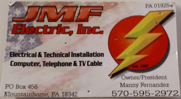 JMF Electrical Contractor