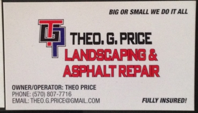 Theo G. Price Landscaping & Asphalt Repair