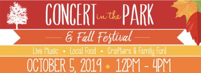 Concert in the Park & Fall Festival (October 2019)