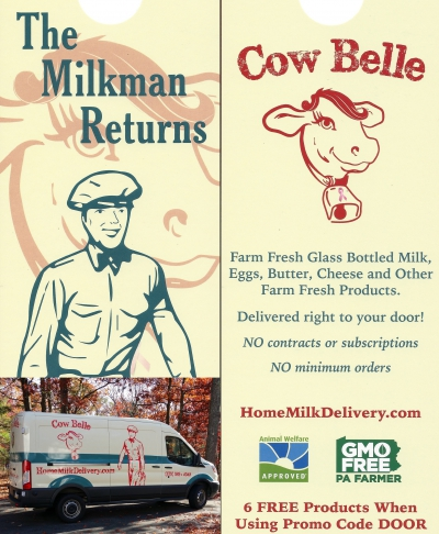 Cow Belle: Now Delivering Milk & Other Dairy Products to Barrett!