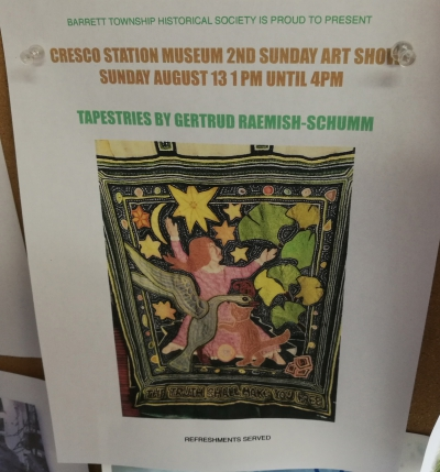 Cresco Station Museum 2nd Sunday Art Show (2017)