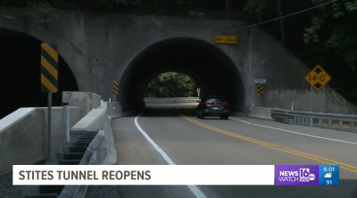 Stites Tunnel open after long construction project